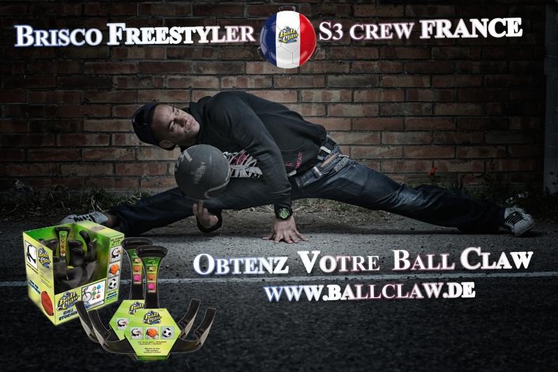 FRANCE, BALLHOLDER, BALLHALTER, BRISCO Freestyle, ballhalter.com