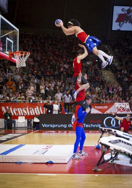 FCB München Basketball gegen Meister Bamber in München am 15.4.2012©foto:flohagena.com