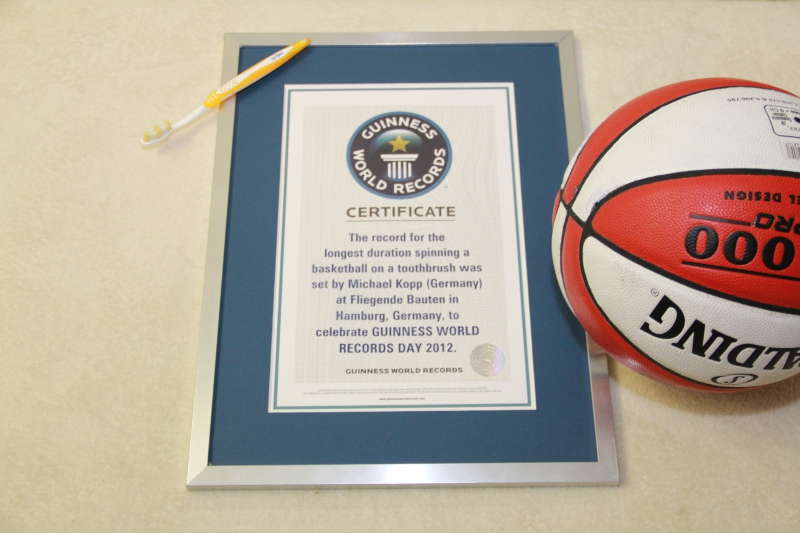 Guinness World Records Day - Michael Kopp