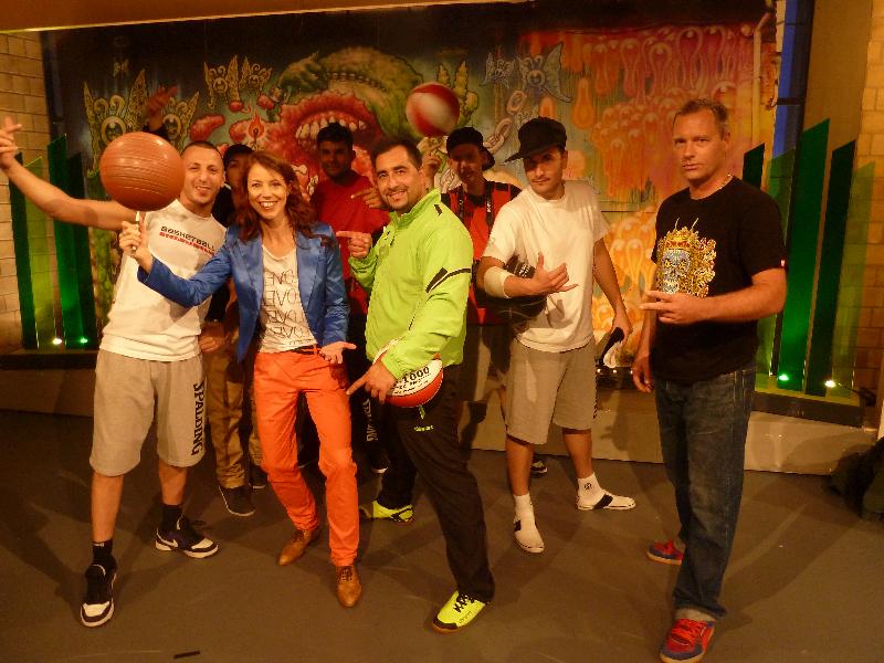 in.puncto Ballhalter Spalding Breakball Team