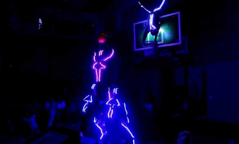LED SPALDING SHOW TEAM3