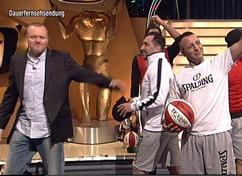 Stefan Raab Spalding Breakball Team