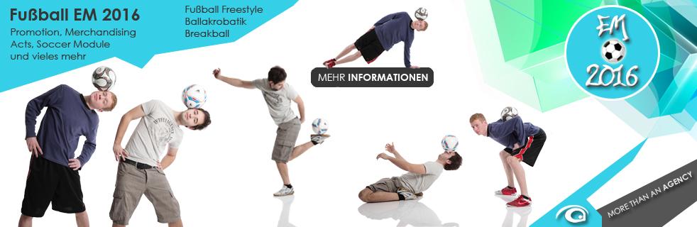 Fußball EM 2016 - Freestyler